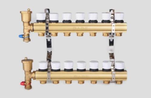一体铸造分集水器